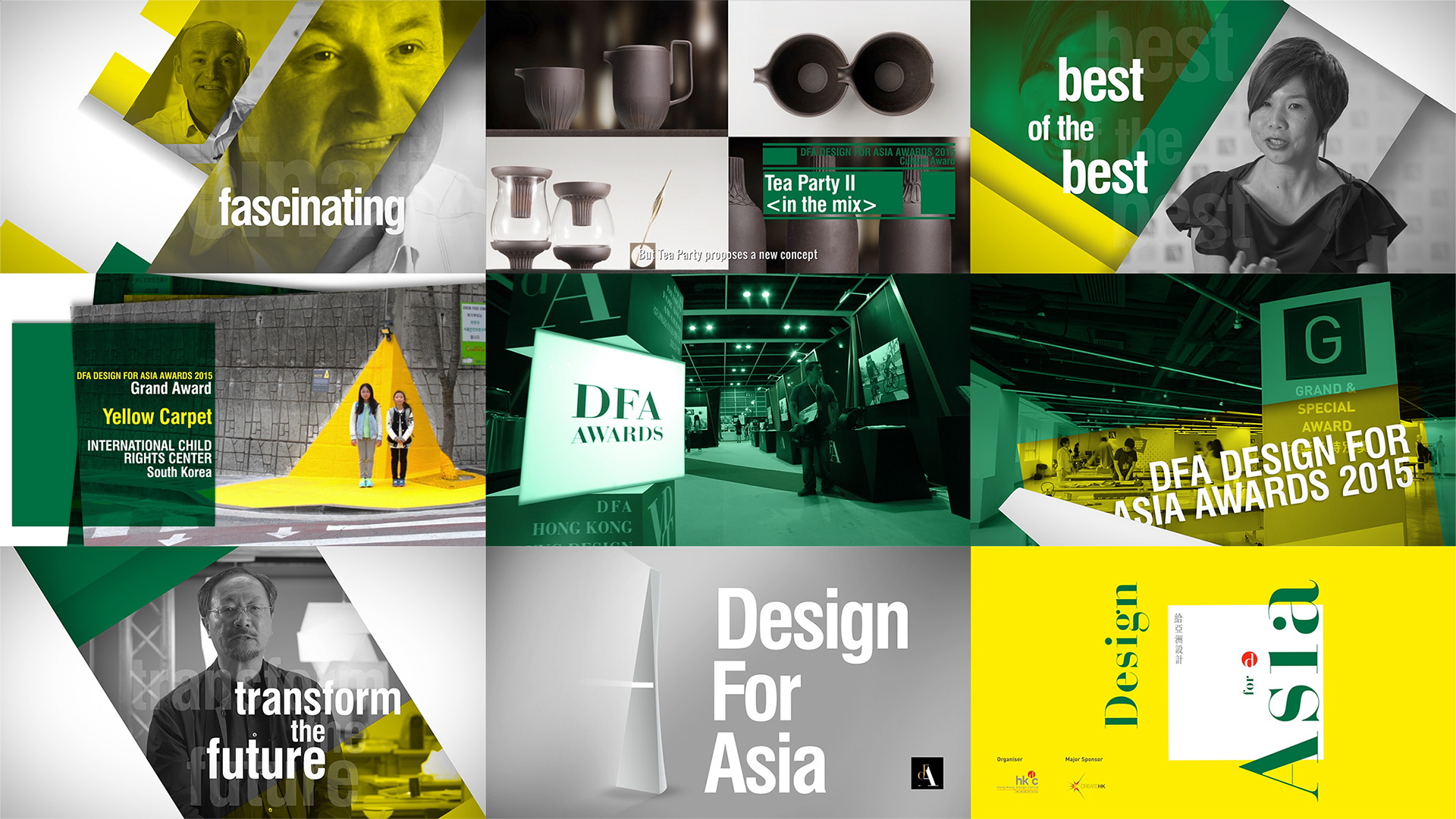 DESIGN FOR ASIA AWARDS (DFAA) 2015